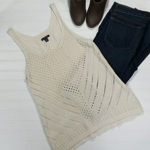 American Eagle knit tank top size large